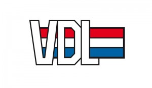 LOGO VDL NL model wit